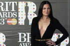 Jessie J arriving at the 2013 Brit Awards in London (Reuters)