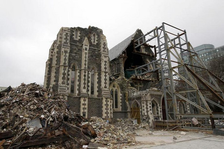 Christchurch Cathedral in September 2011 (Reuters)