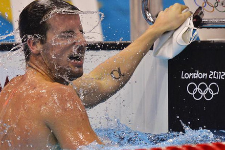 Australian James Magnussen (Reuters file)