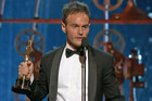 Accepting the award was writer Chris Terrio