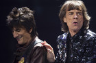 Ronnie Wood with bandmate Mick Jagger (Reuters)