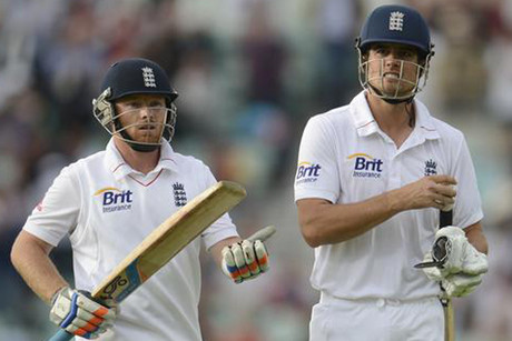 England's batsmen Ian Bell, left, and Alastair Cook (Reuters file)