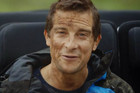 Bear Grylls in Air New Zealand safety video