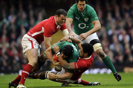 The opening mathc of the 2013 Six Nations turned into an epic arm wrestle (Reuters)