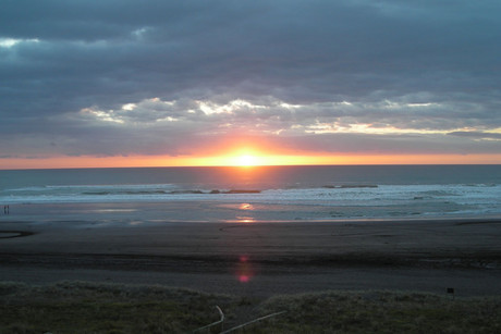 Kariotahi Beach in Waiuku (file)