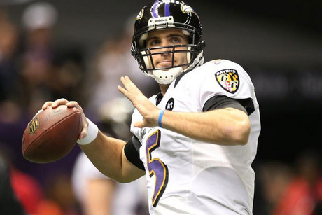 Baltimore Ravens quarterback Joe Flacco (Reuters file)