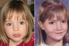 The McCann family's poster showing their daughter Madeleine as she looked when she disappeared (L) and an age progression image which shows what she might have looked like in 2009 (Reuters)