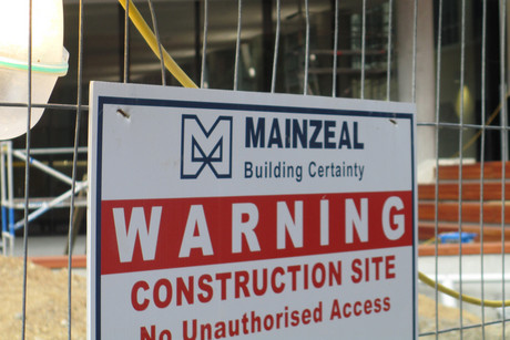 Mainzeal's current projects have been halted and workers have been told to go home