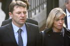 Madeleine's parents Gerry and Kate McCann (file)