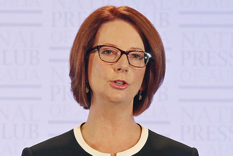 Australian Prime Minister Julia Gillard (AAP)