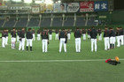 Japanese baseballers show their respects