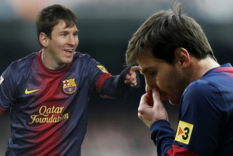 Which Lionel Messi will we see at the end of 90 minutes at Barcelona's Camp Nou? (Reuters file)