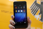 The new Blackberry Z10 (Reuters)