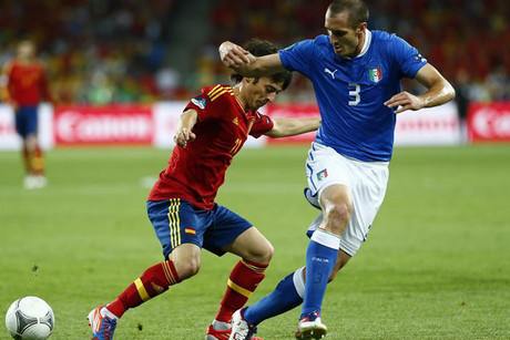 Giorgio Chiellini, right (Reuters file)