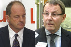 David Shearer and John Banks