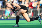 Black Sticks striker Anita Punt is testing herself over sprint distances (Photosport file)
