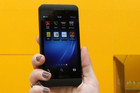BlackBerry Z10 smartphone (Reuters)