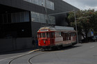 The Auckland tram will be suspended from Easter
