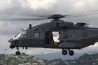The NH-90 can travel up to 300 km/h