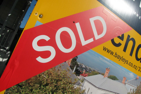 The Auckland property market has risen faster than anywhere else in the country (file)
