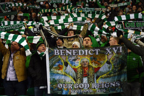 Celtic and their fans need some sort of divine inspiration to have any chance today of overcoming the three-goal deficit (Reuters)