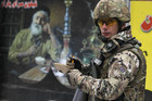 NATO soldier in Afghanistan (Reuters)