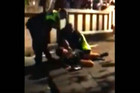 A still taken from a video of the incident