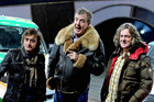 Top Gear presenters Richard Hammond, Jeremy Clarkson and James May (AAP)