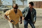 Mark Wahlberg and Denzel Washington in 2 Guns