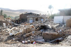 The 6.1 magnitude quake severely damaged homes in Iran (Reuters)