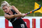 Black Sticks' Charlotte Harrison got scoring underway for the home side (Photosport file)