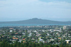 Rangitoto as seen from One Tree Hill