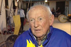 Graham &quot;Toby&quot; Robertson, 99, tries horse racing for the first time