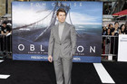 Tom Cruise poses at the premiere of his new film, 'Oblivion' (Reuters)