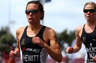 Leading New Zealand triathlete Andrea Hewitt (photosport)