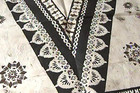 A Fijian tapa cloth