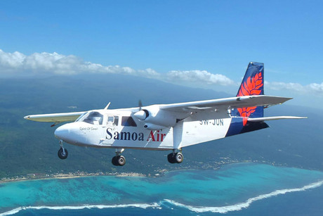 A Samoa Airlines plane (Supplied)