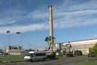 The Tiwai Point aluminium smelter is owned by global mining giant Rio Tinto