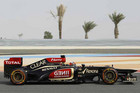 Kimi Raikkonen shows some speed in Bahrain (Reuters)