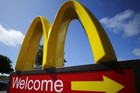 McDonald's says an important sales measurement fell 1 percent and warned that it's expected to dip again in April (Photo: Reuters)
