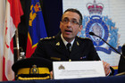 Chief Superintendent Gaetan Chourchesne of the Royal Canadian Mounted Police (AAP)