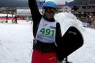 The race has over 500 participants attempting to descend from an altitude of 1,500 metres in around 10 minutes