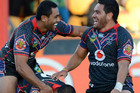 It will take a massive effort for the Warriors to get up over an unbeaten Storm side tonight (photosport)