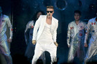Justin Bieber performing in Norway before he headed to Sweden (AAP)