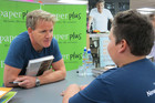 Twelve-year-old Jack waited for four hours to meet Gordon Ramsay (Photo: Briar Marbeck/3 News)
