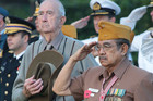 An Australian and Indonesian veteran at the Jakarta service (Photo: New Zealand Embassy)