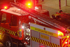 Fire crews battled the fire at the home for about two hours  (file)