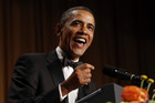 Barack Obama speaks at the White House Correspondents Association Dinner in Washington (Reuters)