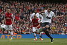 Robin Van Persie scores a penalty for Manchester United (Reuters)