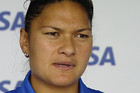 Shot putter Valerie Adams is heading back to Switzerland to train for the world champs in August